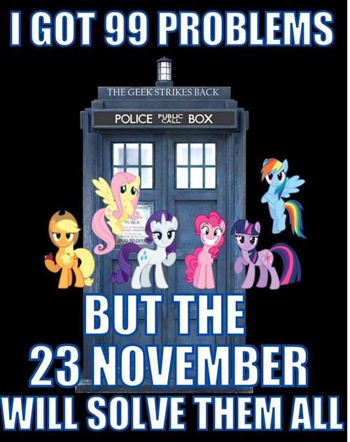 premiere mane 6 MLP doctor who - 7817318144
