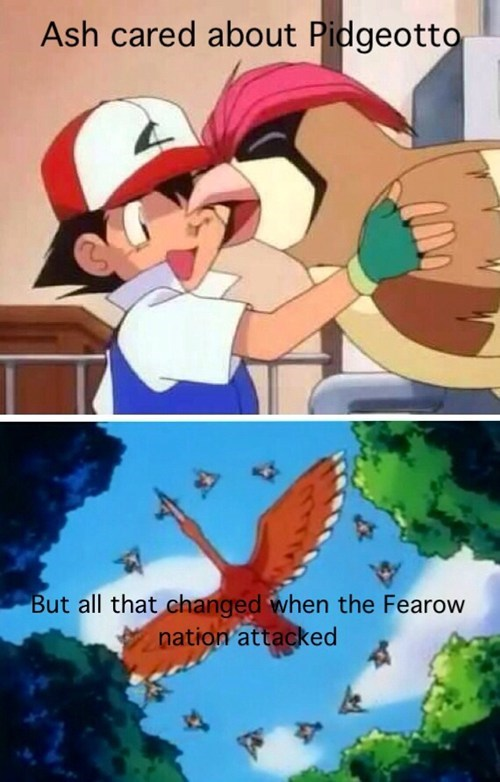 anime pidgeotto Fearow - 7817474048