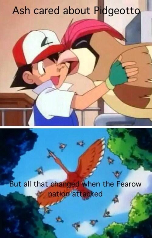 anime pidgeotto Fearow - 7817474048