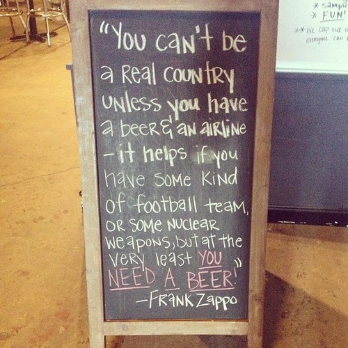 beer sign country frank zappa quote after 12 g rated americana - 7817724928