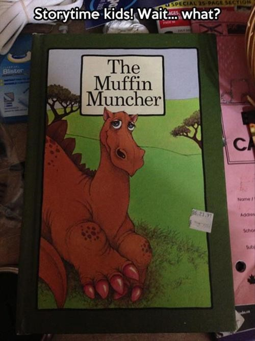 innuendo,kids books,the muffin muncher