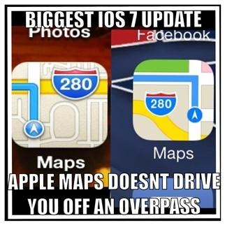 apple maps ios 7 monday thru friday g rated