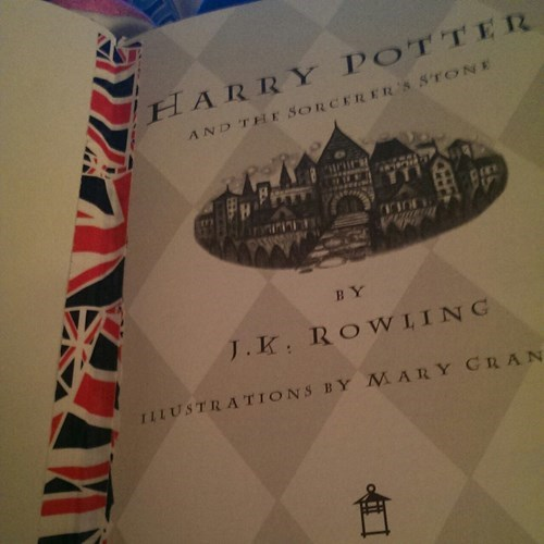 Harry Potter,british flag,duct tape,funny,there I fixed it