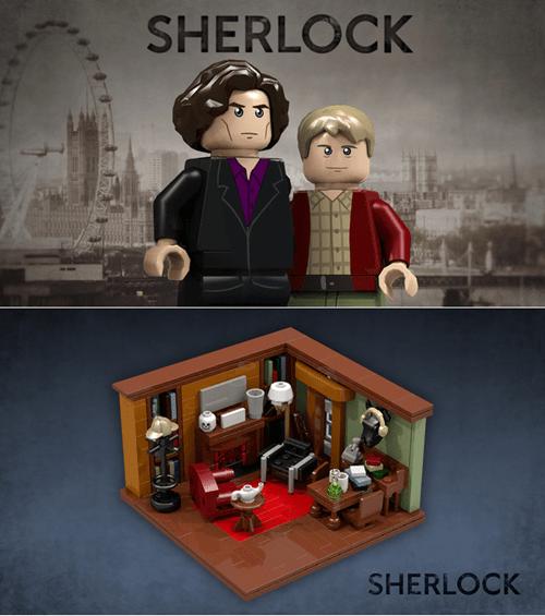 lego,Sherlock,bbc