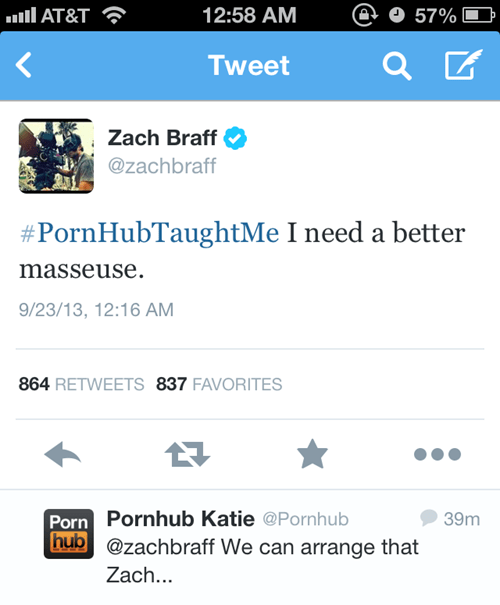massages,Zach Braff,pr0n