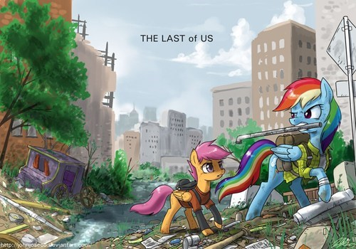 twilight sparkle last of us Scootaloo - 7817934080