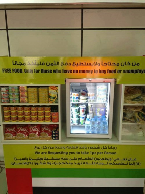 random act of kindness convenience store restoring faith in humanity week free stuff funny - 7818187264