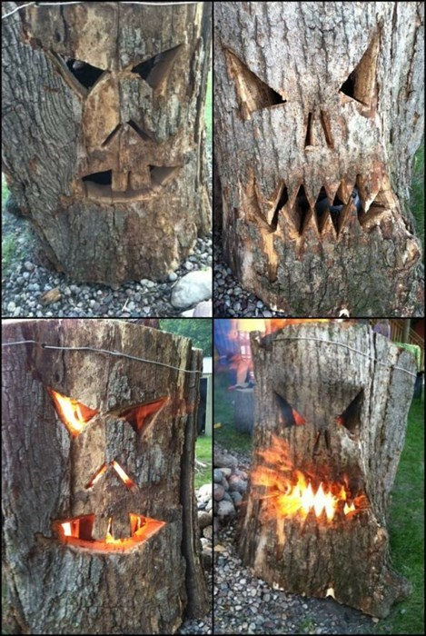Stump-o-Lanterns