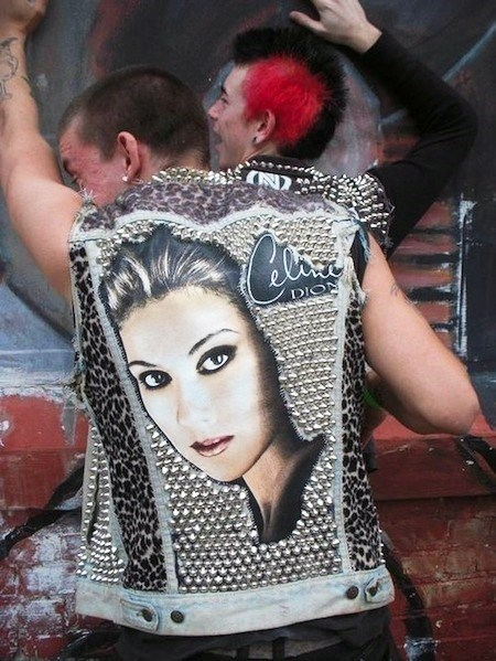 punk jacket celine dion Music g rated - 7818762240