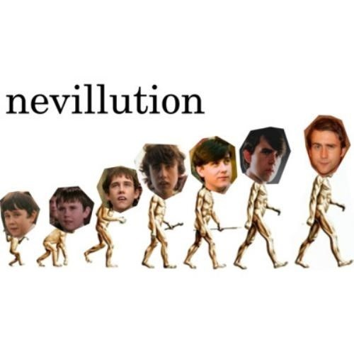 Harry Potter evolution neville longbottom - 7819321600