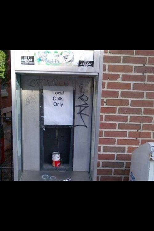 long distance tin can phones payphones - 7819345408