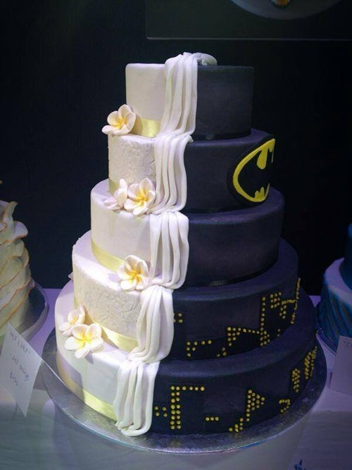cake wedding batman - 7819362560