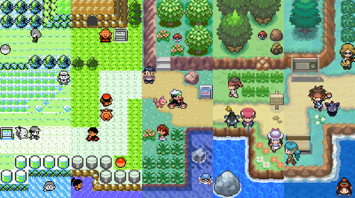 Seventeen Years of Pokémon in One Map