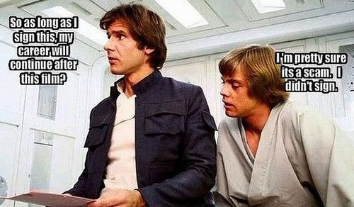 star wars,luke skywalker,career,Han Solo