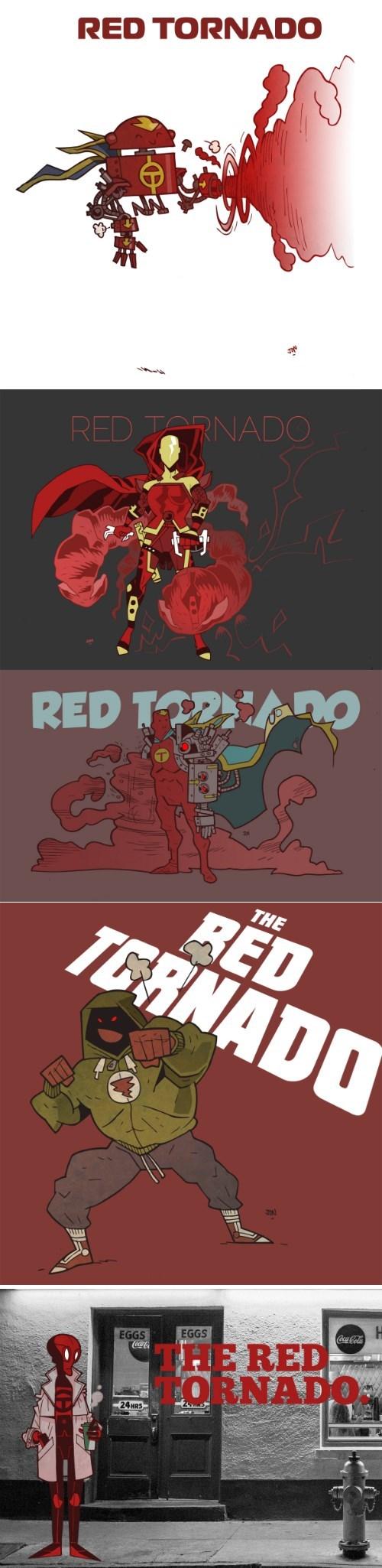 DC red tornado comics Fan Art - 7819666432