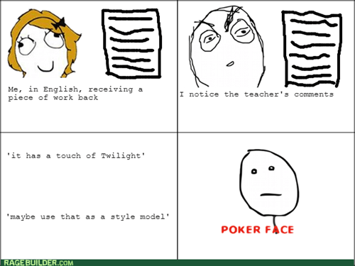 school teachers poker face twilight truancy story