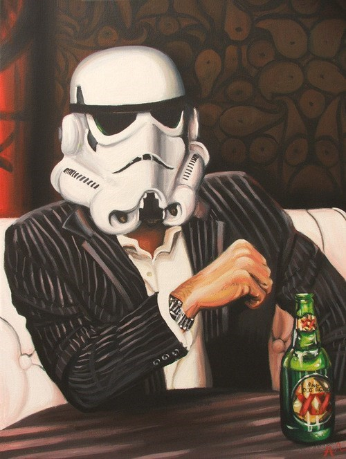dos equis,start wars,stormtrooper,funny