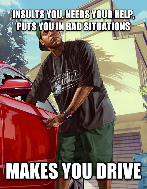 scumbag grand theft auto v lamar - 7819717632