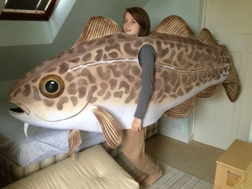 halloween costume fish g rated - 7819718912