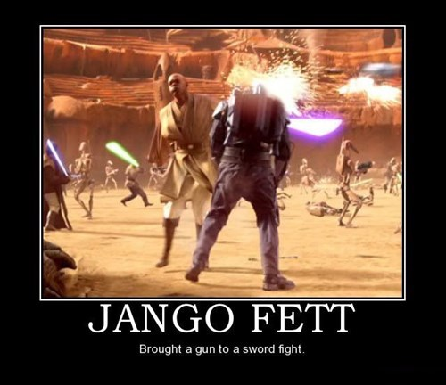 Jango Fett star wars sword idiots - 7819739136