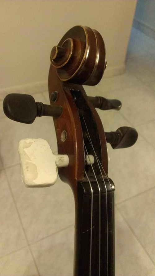 violin,there I fixed it