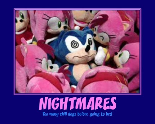 video games,funny,nightmares,sonic