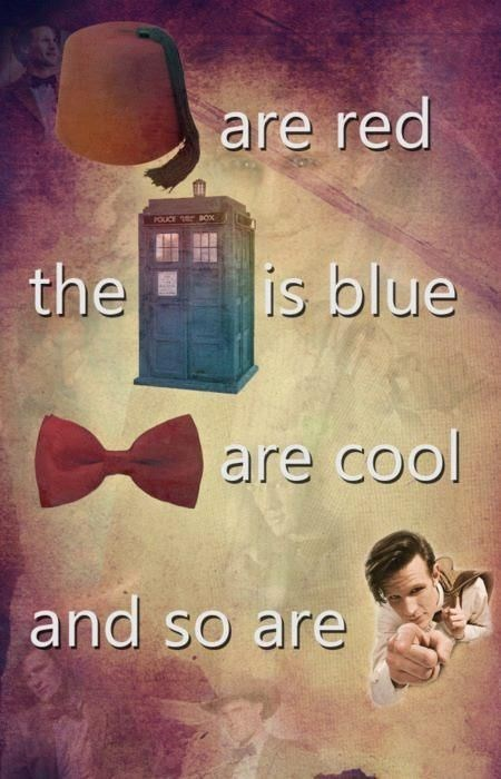 11th Doctor doctor who poems - 7819815168