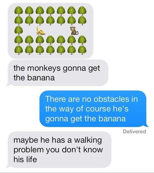 monkeys,texting