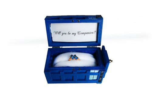 tardis for sale doctor who engagement rings - 7819848704