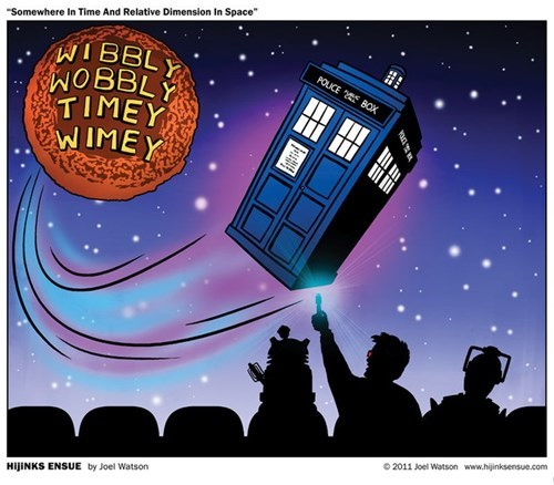 Fan Art doctor who mystery science theater 3000 - 7819856384