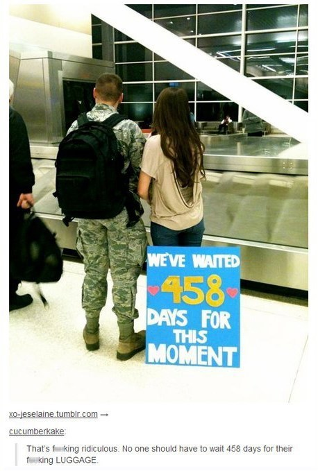 baggage claim relationships soldiers - 7819877632