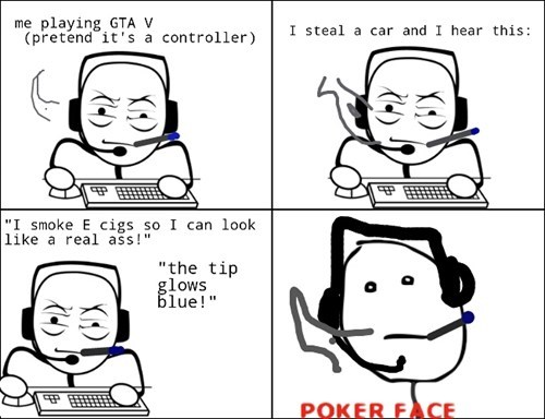 GTA V,poker face,Grand Theft Auto