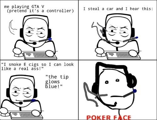 GTA V poker face Grand Theft Auto - 7819882752