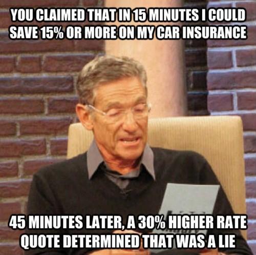 GEICO Memes car insurance maury - 7819980032