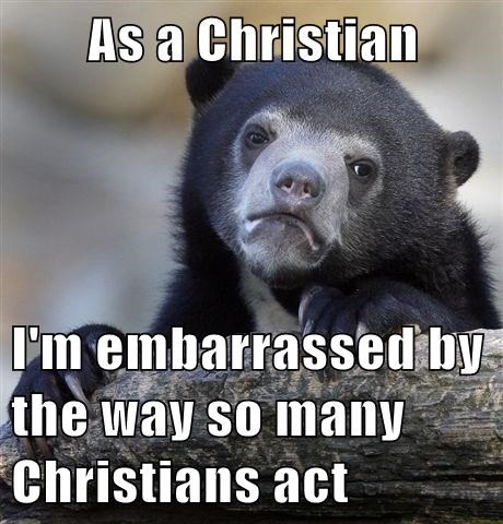 They Are Not Very Christian Like