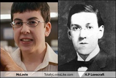 hp lovecraft mcloving totally looks like funny - 7820283648