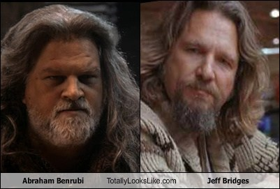 abraham benrubi,totally looks like,jeff bridges,funny