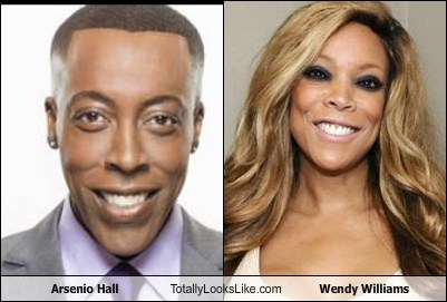 arsenio hall,totally looks like,wendy williams,funny