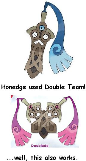 Pokémon honedge doublade - 7821026560