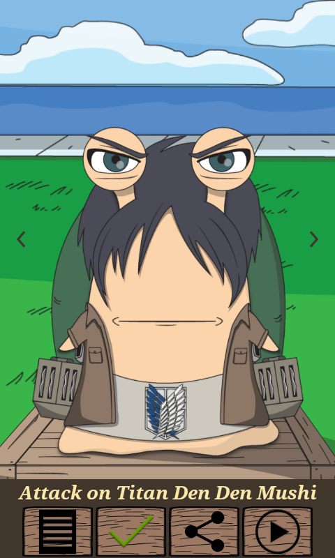 den den mushi apps attack on titan
