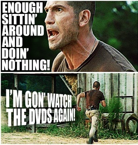 proactive,shane walsh,The Walking Dead