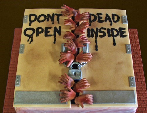 cake,don't open dead inside,The Walking Dead
