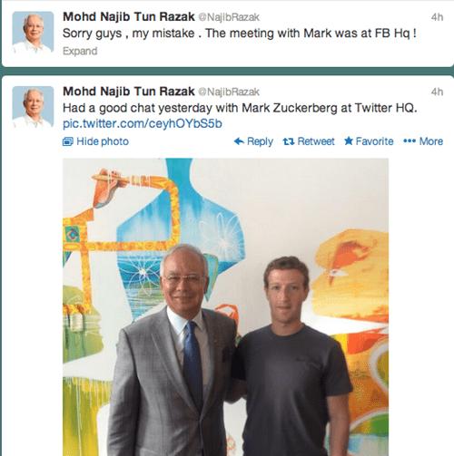 malaysia,Najib Razak,Mark Zuckerberg