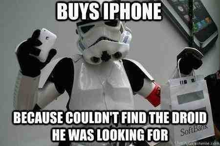 stormtrooper droid iphone
