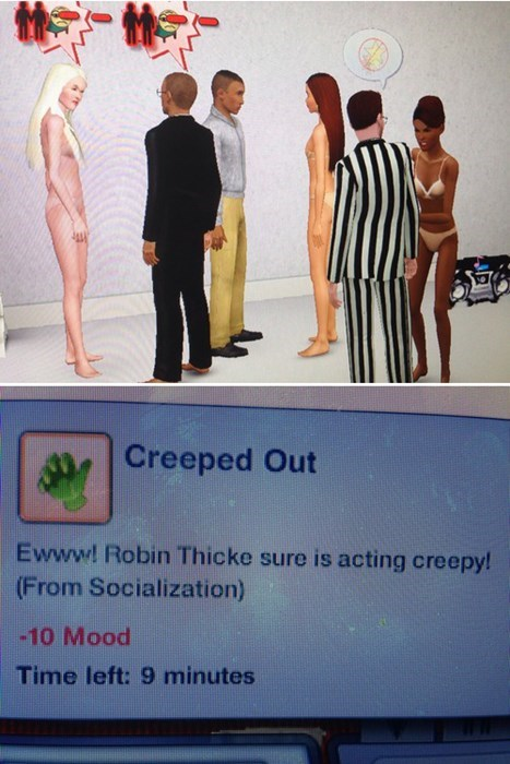 Blurred Lines robin thicke The Sims - 7821253888