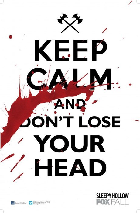 sleepy hollow,TV,keep calm