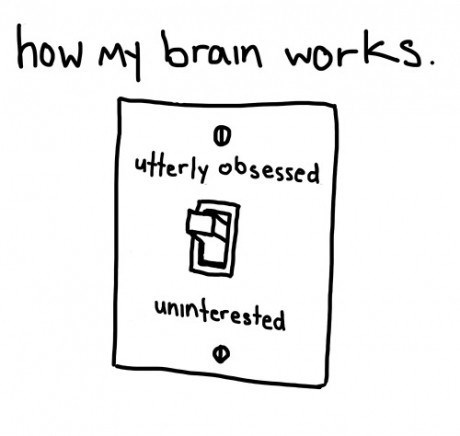 brains interest obsession - 7821410304