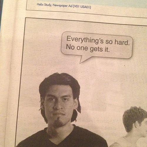 Ad,accidental sexy,funny,newspaper