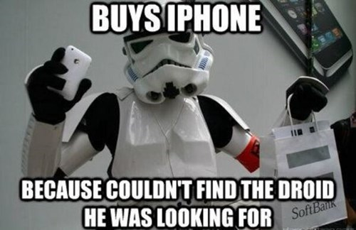 cell phones star wars droids iphone