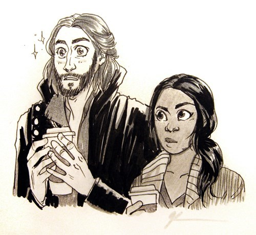 sleepy hollow,Fan Art,coffee